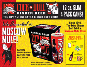 Cock'n Bull 12 oz 4-Pack Sale Sheet