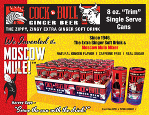 Cock'n Bull 8oz Can Sale Sheet