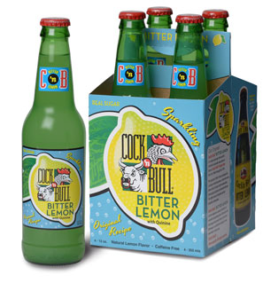 Cock'n Bull Diet Bitter Lemon Bottle and Carton