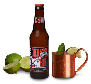 Cock'n Bull Original Ginger Beer, Moscow Mule and Limes